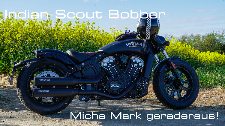 Indian Scout Bobber - Micha Mark geraderaus!