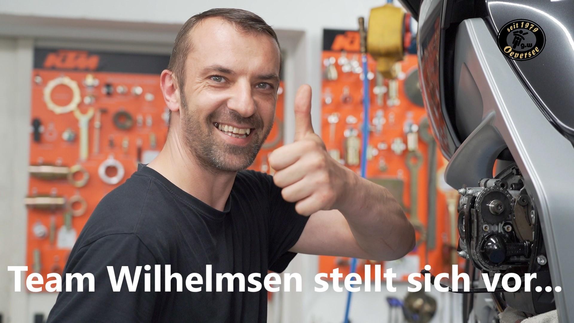 Team Wilhelmsen stellt sich vor...