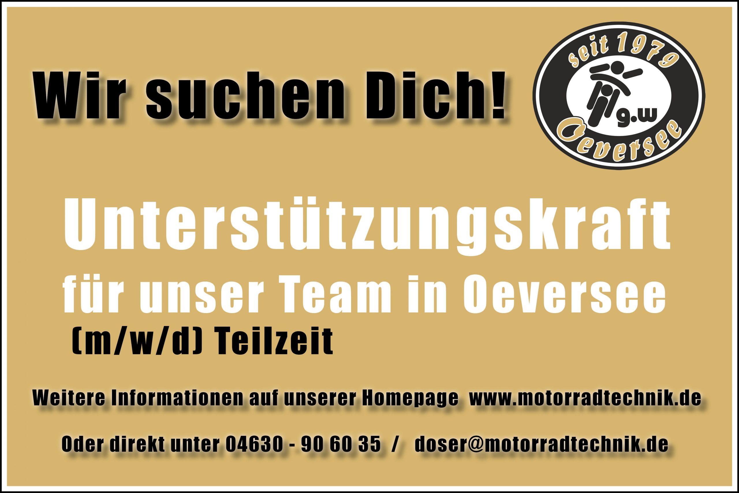 Unterstützungskraft für unser Team in Oeversee  –  Kaufmann/-frau – Büromanagement / Alternativberufe Automobilkaufmann/-frau